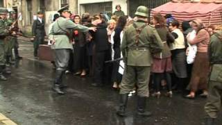Polish city stages chilling holocaust re-enactment