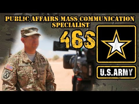 46S Public Affairs Mass Communications Specialist