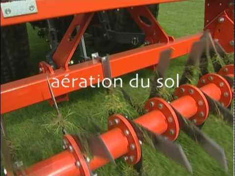 Entretien des pelouses de terrains de sports youtube - Scarificateur fait maison ...