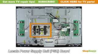 Proscan/RCA 123882 Power Supply Unit (PSU) Boards Replacement Guide for LCD TV Repair