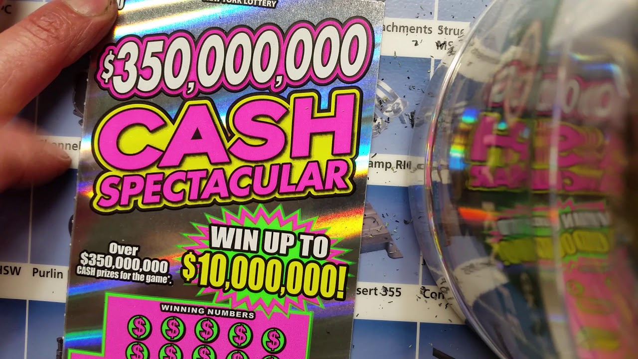 $350,000,000 Cash spectacular,Fast 600 New York Lottery scratch off tickets