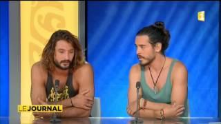 "Le phénomène ""Frero Delavega"" sur scène à Tahiti"