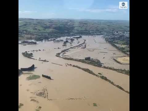 Floods prompt evacuations in New Zealand