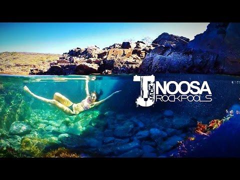 Amazing Rock Pools At Noosa