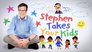 Let Stephen Colbert Homeschool Your Kids! #ColbertKidQuestions