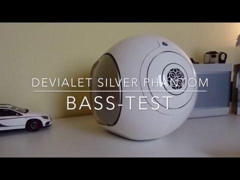 Devialet Silver Phantom - Basstest..