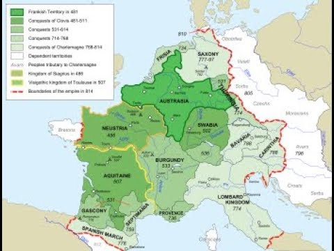 The Merovingians and the Rise of the Carolingians