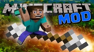 Minecraft Mods | FLYING / CONTROL ARROW MOD! | Minecraft Mod Review