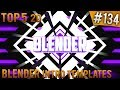 TOP 5 Blender 2D intro templates #134 (Free download)
