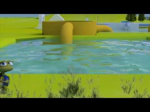 C mo llega el agua a tu casa youtube for Mampara fija se sale el agua