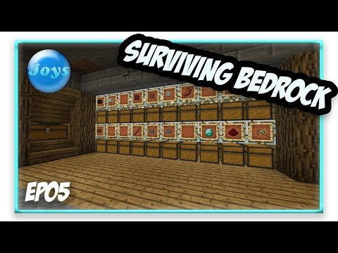 Auto Sorting Storage, Brand New Concept!!!! - Surviving Bedrock SMP EP05
