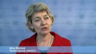 Irina Bokova on Education for All