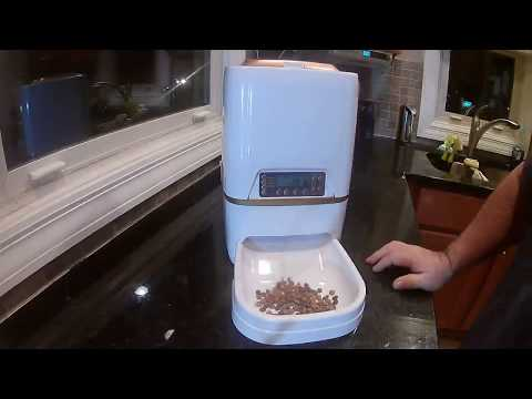 Homdox 6L Automatic Pet Feeder Food Dispenser Review, Wonderful If You Need Help Feeding Your Pets