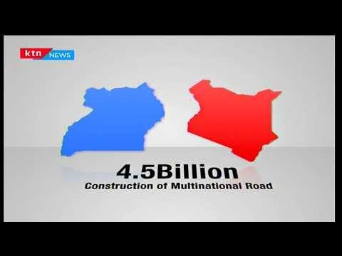 Kenya and Uganda to construct a Sh4.5Bn multi-national road