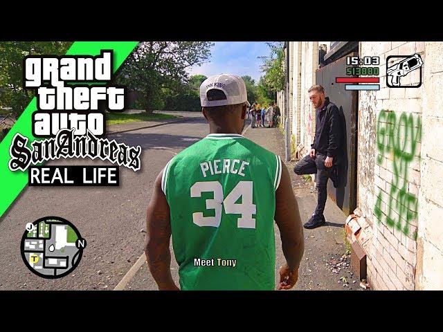 GTA Nerf San Andreas REAL LIFE