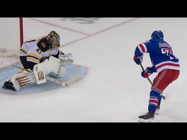 Rangers, Bruins settle it out in a seven-round shootout