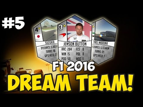 F1 2016: DREAM TEAM #5 - BETTER PACKS?!