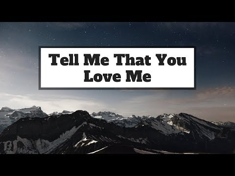 James Smith - Tell Me That You Love Me  | Panda Music