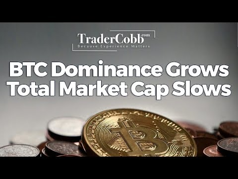 BTC Dominance Grows Total Market Cap Slows