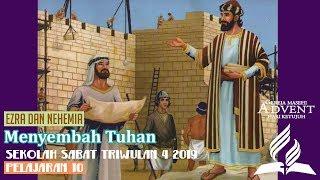 Sekolah Sabat Dewasa Triwulan 4 2019 Pelajaran 10 Menyembah Tuhan (ASI)