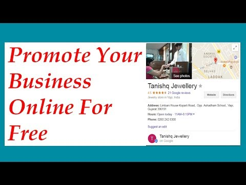 Promote Your Business Online For Free - Grow Your Business With Google