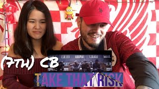(7th) CB - Take That Risk | REACTION to UK RAP Link Up TV