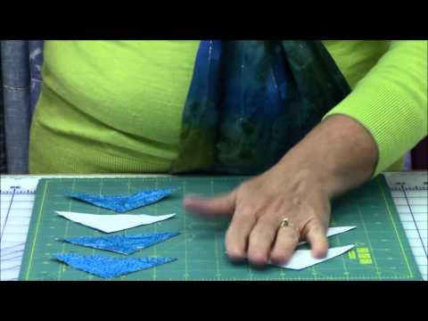 Quilt-in-a-day Triangle Square Up Rulers