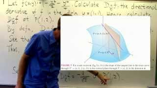 directional derivative of f x y