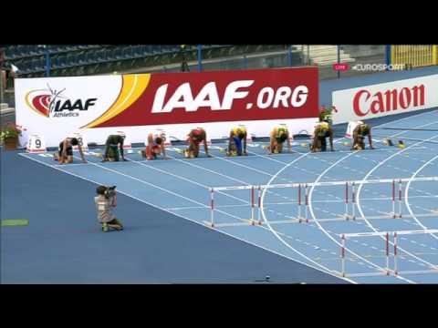 113 De'Jour Russell 110m Hudrles Men's Semifinal 3 HD World U20 Championships Bydgoszcz 2016