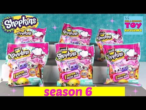 NEW Shopkins Season 6 Chef Club Recipe...