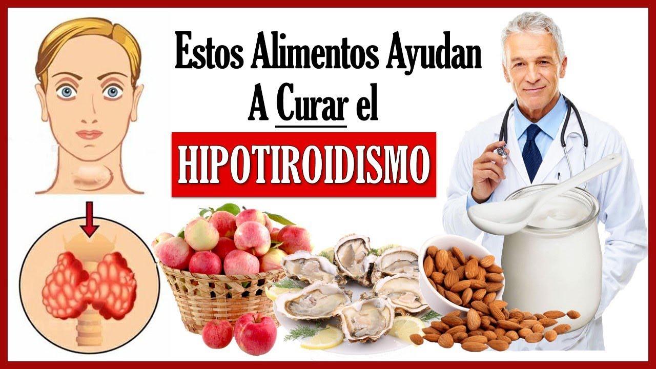 alimentos para bajar hipertiroidismo