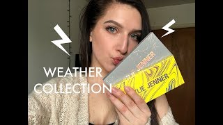 KYLIE COSMETICS WEATHER COLLECTION PALETTES   REVIEW & SWATCHES  