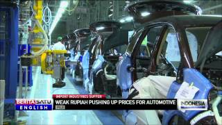 Indonesian Automotive Industry Struggling With Import Costs on Weaker Rupiah
