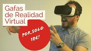 Gafas de realidad Virtual para móvil o celular