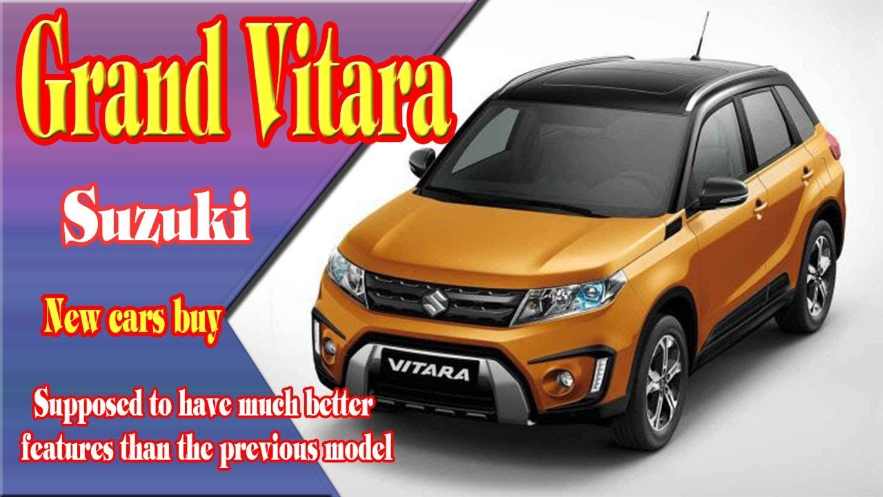 2018 suzuki grand vitara new suzuki grand vitara 2018 2018 suzuki grand vitara concept