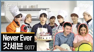 [Thai Reaction] 갓세븐 GOT7 - Never Ever [쿠킹라이브] LIV…