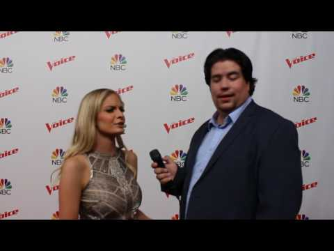 Lauren Duski talks about working with Shania Twain on the Voice | NBC