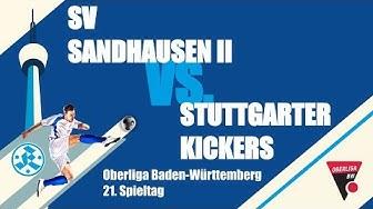 Oberliga BW, 21. Spieltag, SV Sandhausen II vs Stuttgarter Kickers - Spielbericht