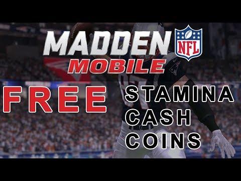 NFL Madden Mobile 2018 - Hack Free Coins / Free Cash / Get Stamina [2018]