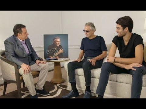 Andrea Bocelli y su hijo, juntos en entrevista exclusiva de Voz Populi - Blu Radio