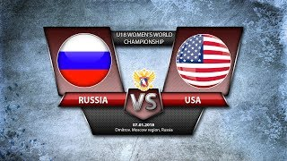 WW U18. Russia-USA