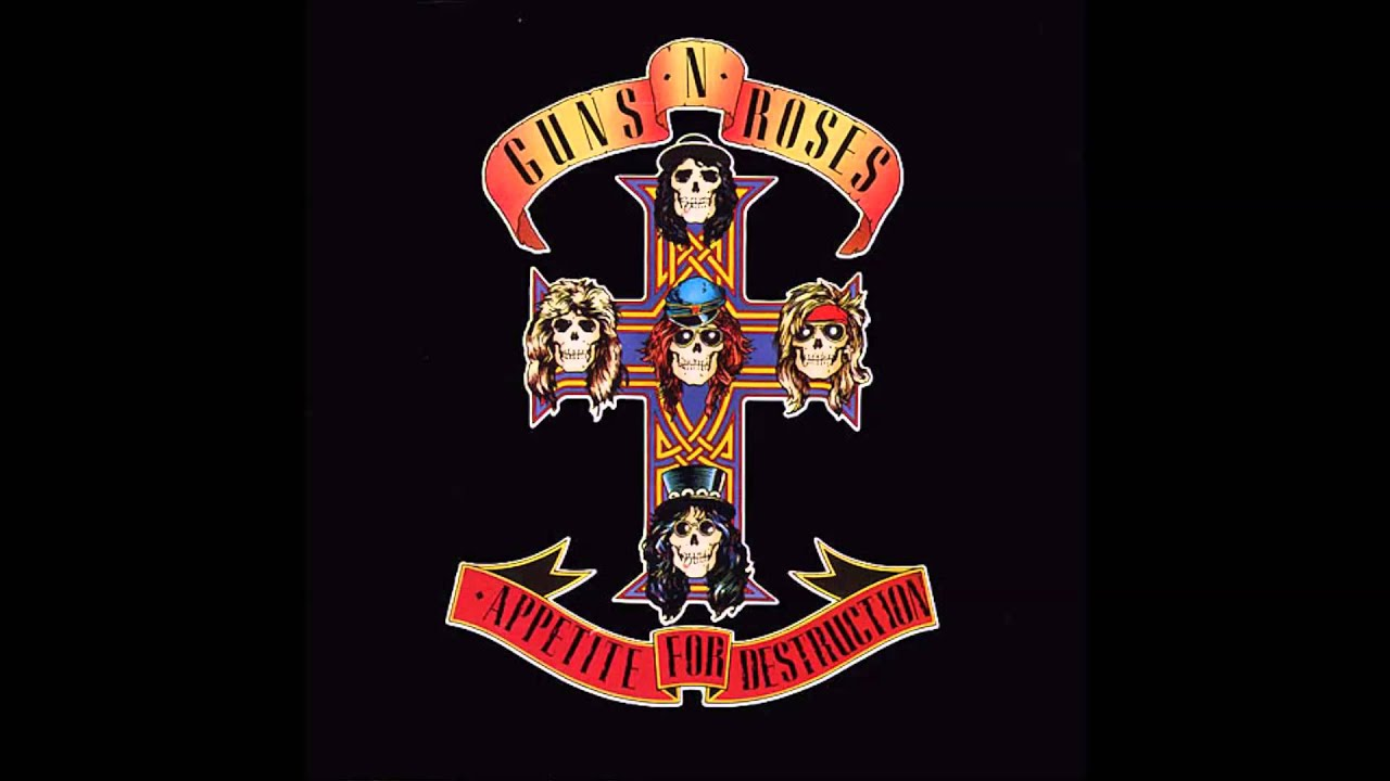 01-Guns'n roses- Welcome to the jungle - Appetite for ...