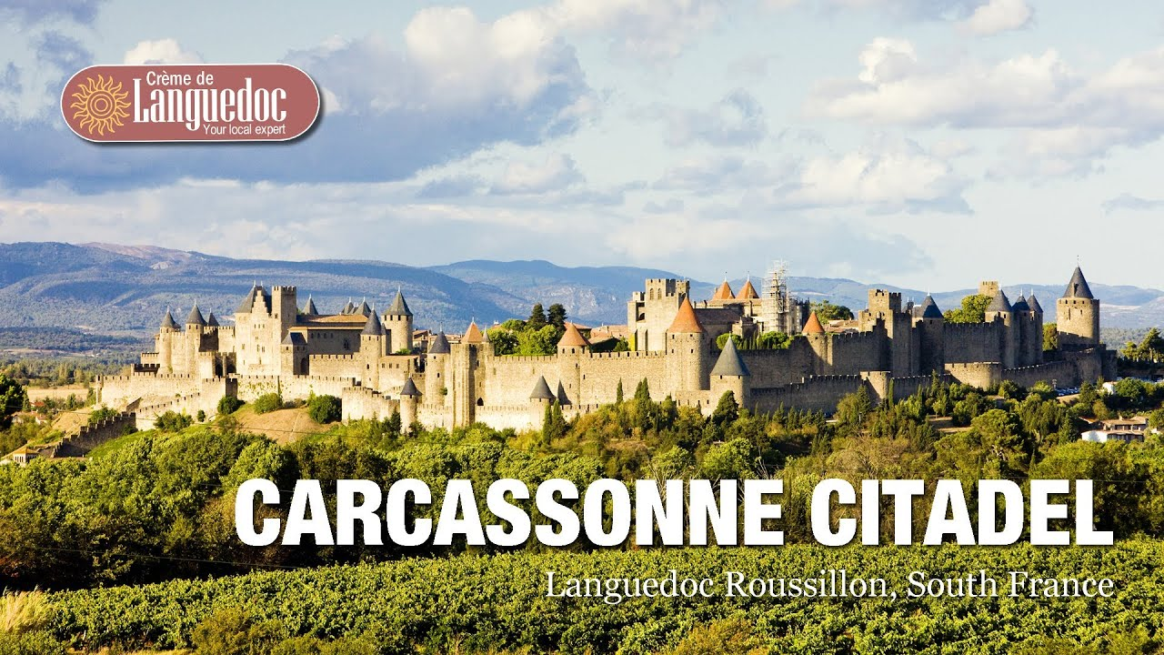 Carcassonne citadel and castle sightseeing guide, Languedoc, South