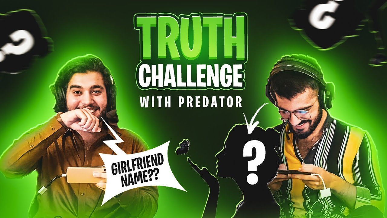 Truth Challenge with @Predator  | Playing Face to Face | 47 khalifa Pubg Mobile