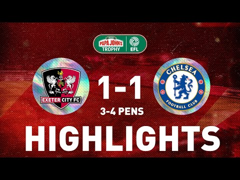 Exeter City Chelsea U21 Goals And Highlights