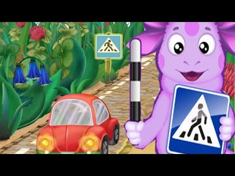 Лунтик Учит Правила Дорожного Движения.Развивающий и Обучающий Мультик Игра для Детей и Малышей