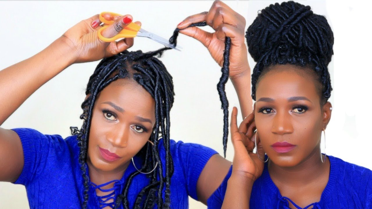 How To Take Down Crochet Faux Locs In Less Than 1hour