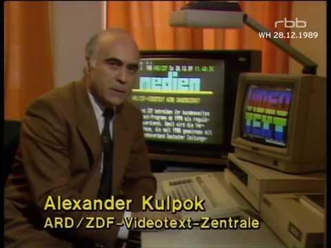 Berliner Abendschau - Videotext-Regelbetrieb [28.12.1989]