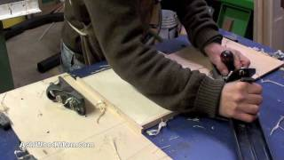 How To Make Plywood Boxes • 32 Of 64 • Woodworking Project For Kitchen Cabinets, Desks, Etc...