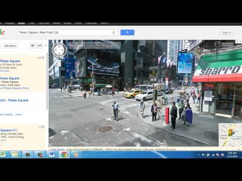 How To Use Google Map Street View